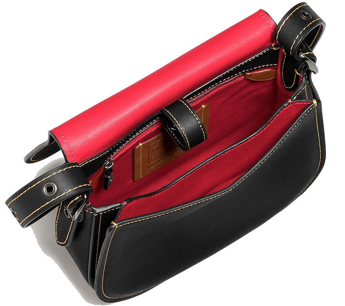 f203d28d Disney x Coach Mickey Mouse Saddle Bag 23: Amazon.ca: Shoes & Handbags