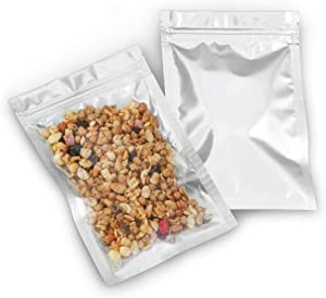 Mylar Bags with Ziplock 4.5