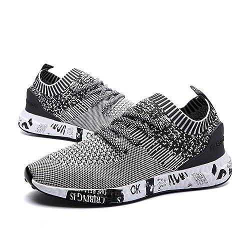 Para Zapatillas Correr De Deporte Hombre Respirable Lace Sneakers Up Casual Zapatos Deportes Running ZapatosGracosy En Asfalto yvYbf76g