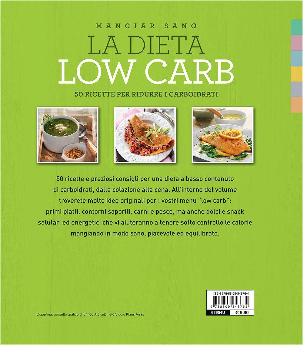 ricette dieta a basso contenuto di carboidrati cardapio