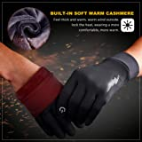 SIMARI Winter Gloves for Men Women,Keep Warm Touch