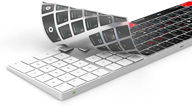 Fits Magic tastiera wireless con tastiera numerico Pad Schermo di protezione Apple Logic Pro X della tastiera