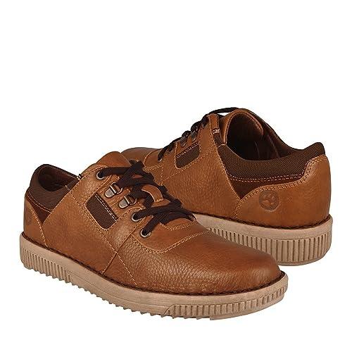 Zapatos Snufmx Para 9270 Solo Piel Caballero Cedro Lobo I6gvmYbyf7