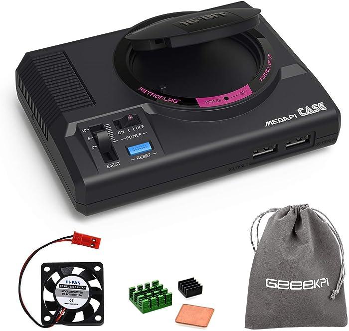 The Best Sega Genesis Raspberry Pi Case