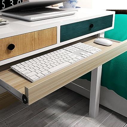 Bandeja para teclado y cajones para debajo del escritorio, cómoda ...