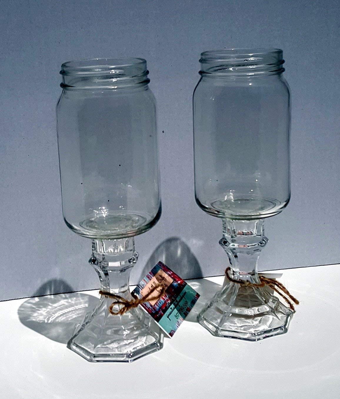 Redneck Champagne Glasses tall 12 oz