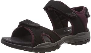 Geox Women's D Sukie A Open Toe Sandals, Beige (Beige C5000