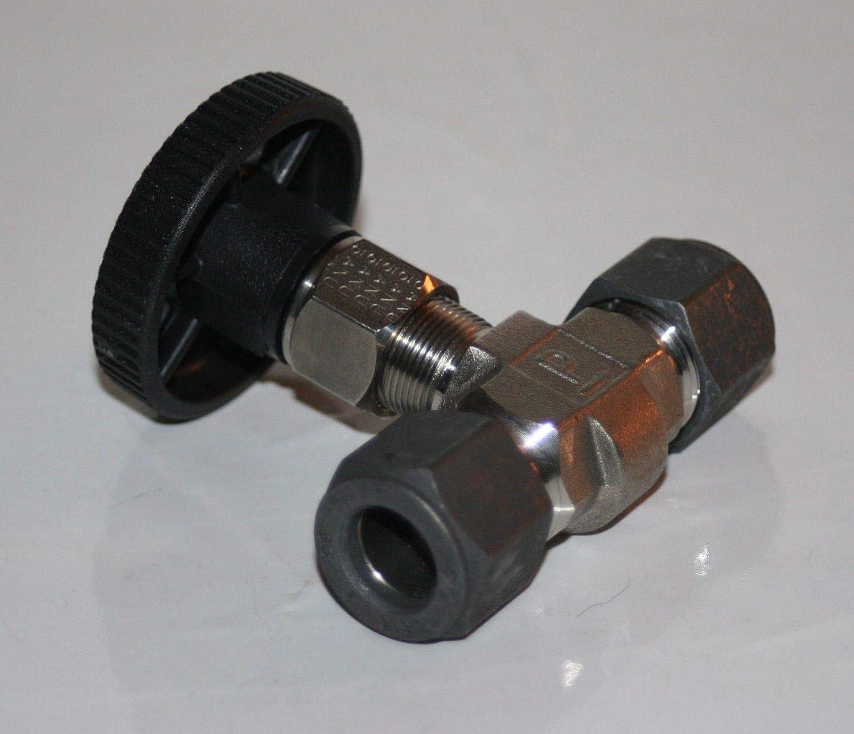 -V6LR-SS 1//2 Tube 316 SS Needle Valve Parker 8Z A