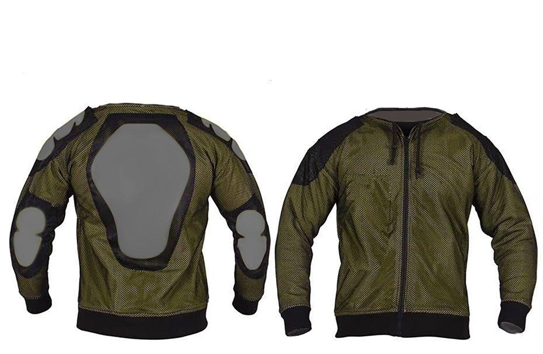 Renforts CE//100/% Kevlar Sweat-Shirt /à Capuche en Polaire 2XL = 48//122 cm Gris 50//127 cm