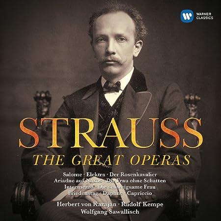Amazon.com: R. Strauss: The Great Operas (22 CD): Music