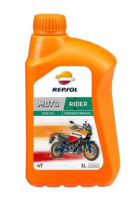 Repsol RP165N51 Moto Rider 4T 10W40 Aceite de Motor, 1 L: Amazon ...