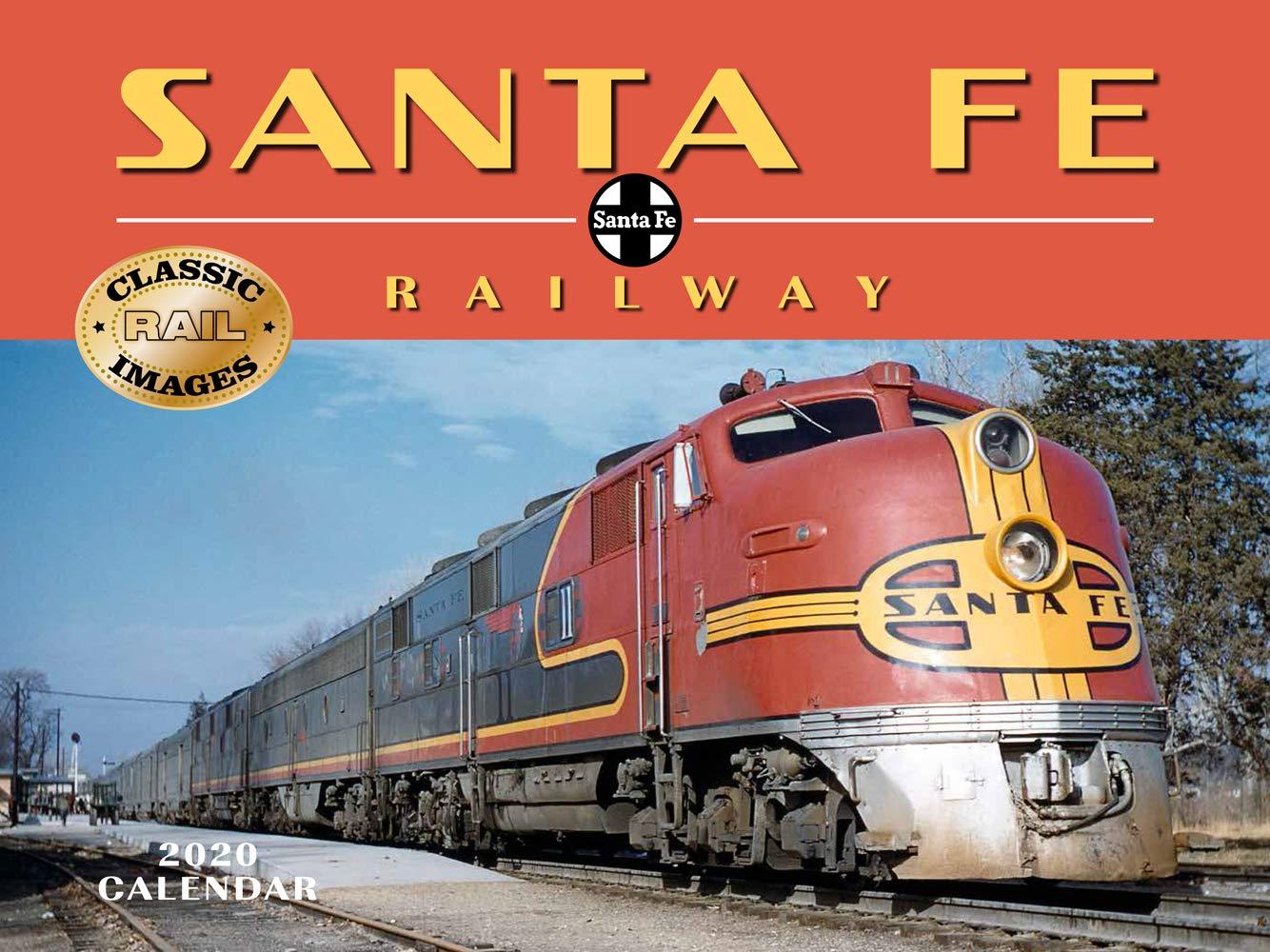 Santa Fe Calendar 2020 Santa Fe Railway 2020 Calendar: Tide mark: 9781631142642: Amazon