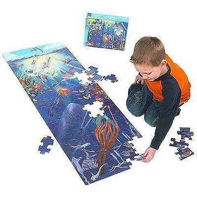Under the Sea: 100-Piece Floor Puzzle: Toys & Games