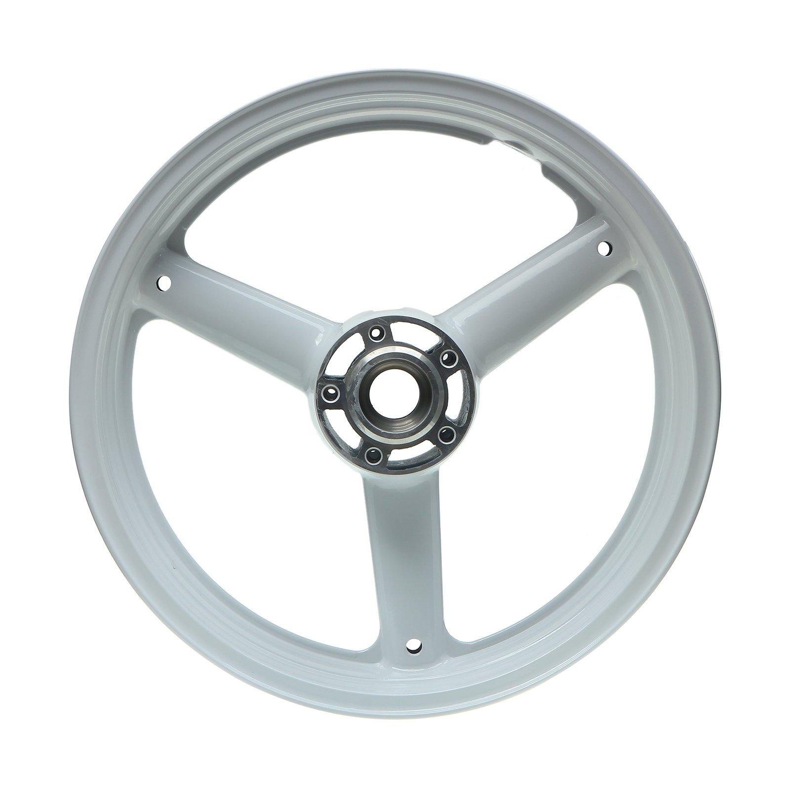 TARAZON 17'' x 3.5'' Alloy Forged Front Wheel Rim SUZUKI Hayabusa GSXR 1300 99-07 White