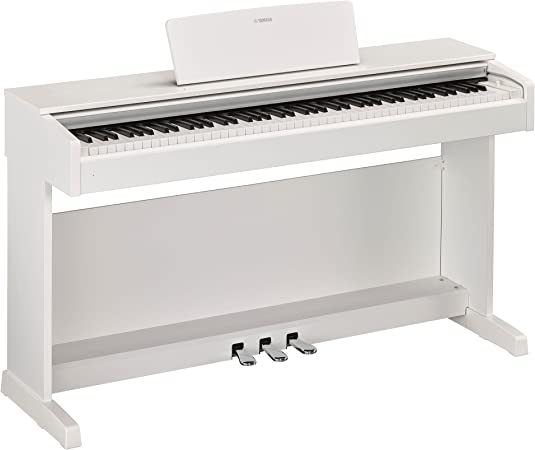 Yamaha ydp143wh Piano digital 88 teclas pesati blanco: Amazon ...