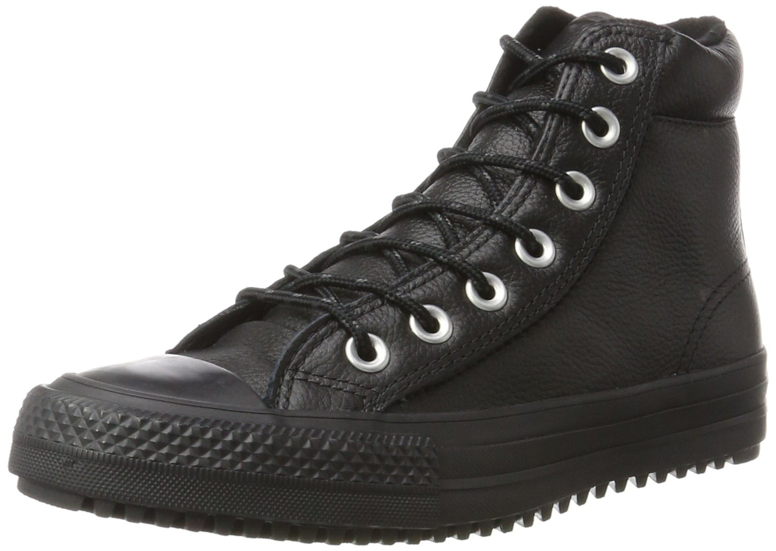 Converse Unisex Chuck Taylor All Star Boot PC, Black/Black/Black, 3.5