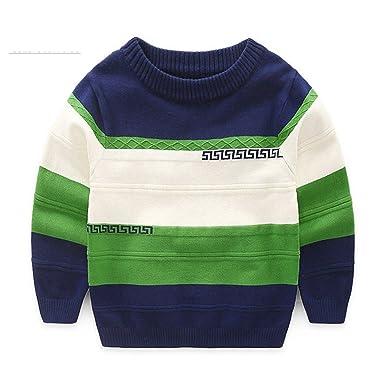 Kersttrui Kids.Amazon Com Rick Rogers Boy S Sweaters Patchwork Classic Fashion