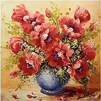 Tomtopp Flower Vase 5D Diamond DIY Painting Kit Home Decor Craft 30 X 30cm