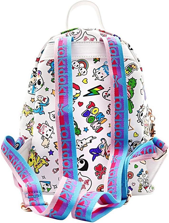 Tokidoki White Denim Daze Mini Backpack