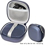 Midnight Blue Protective Case for Bose SoundLink Micro Bluetooth Speaker, Best Color and Shape Matching, Featured Secure and Easy Pulling Out Strap Design, Mesh Pocket for Cable and accessorie