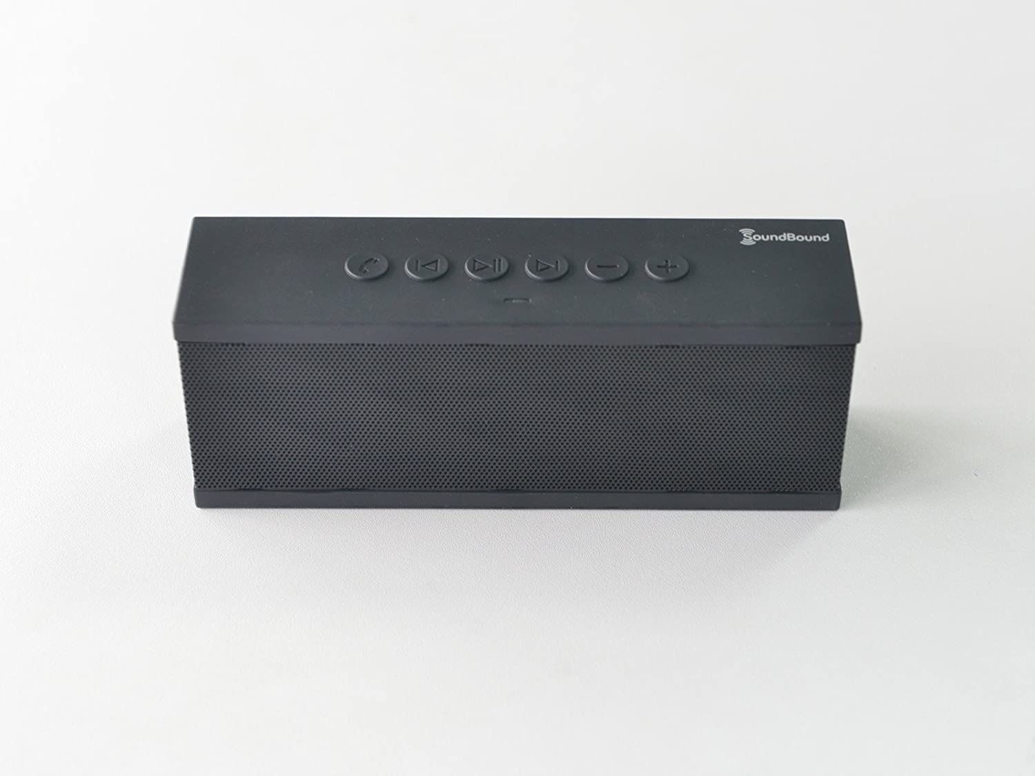 SoundBound Ultra Portable Wireless Bluetooth Speaker with Speakerphone Works with Iphone Mp3 and Smartphones