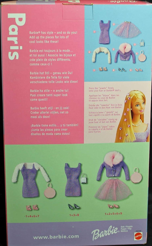 Barbie Paris (Rare) Retired 1999 Playset