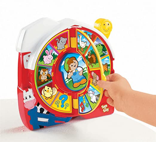 Amazon.com: Fisher-Price See 'n Say The Farmer Says Toy: Toys & Games
