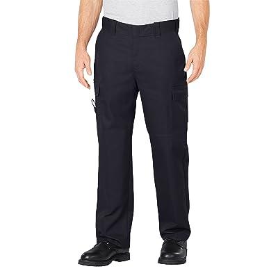 Dickies Men's Industrial Flex Comfort Waist EMT Pants, Midnight, 46 x UL: Sports & Outdoors