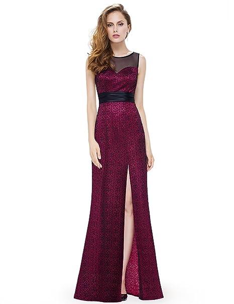 Ever Pretty Damen Elegant Lang Abendkleider Partykleid 08950  Amazon.de   Bekleidung ef427a51ff