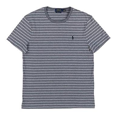 f9fe25b5 Polo Ralph Lauren Mens Custom Slim Fit Crew Neck T-Shirt | Amazon.com