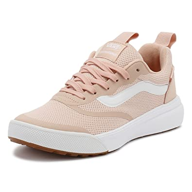 413abe279de Vans Women s UltraRange Rapidweld Lace Up Trainer Rose Cloud-Pink-5