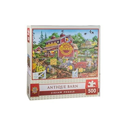 MasterPieces Country Escapes - Antique Barn 500 Piece Puzzle: Toys & Games