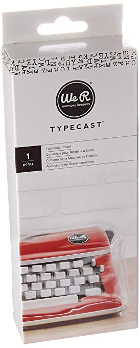 We R Memory Keepers Funda para máquina de Escribir Typecast Typewriter Rosa: Amazon.es: Hogar