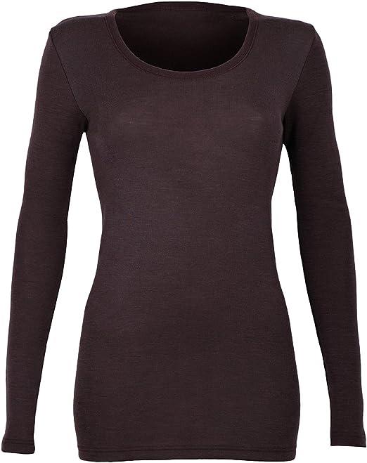 DILLING Thermo Unterhemd f/ür Damen aus 100/% Merinowolle