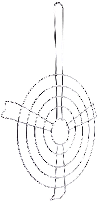 IMUSA USA IMU-6000800 Arepa Grill 9.5-Inch Silver
