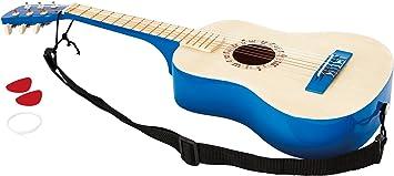 Hape- Guitarra española, Color Azul (Barrutoys E0326): Hape ...