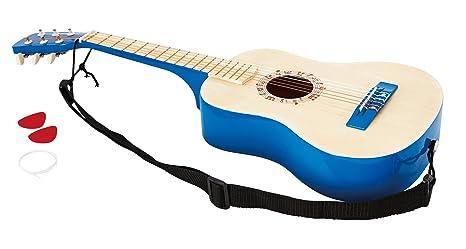 Hape Guitarra española Color Azul Barrutoys E0326