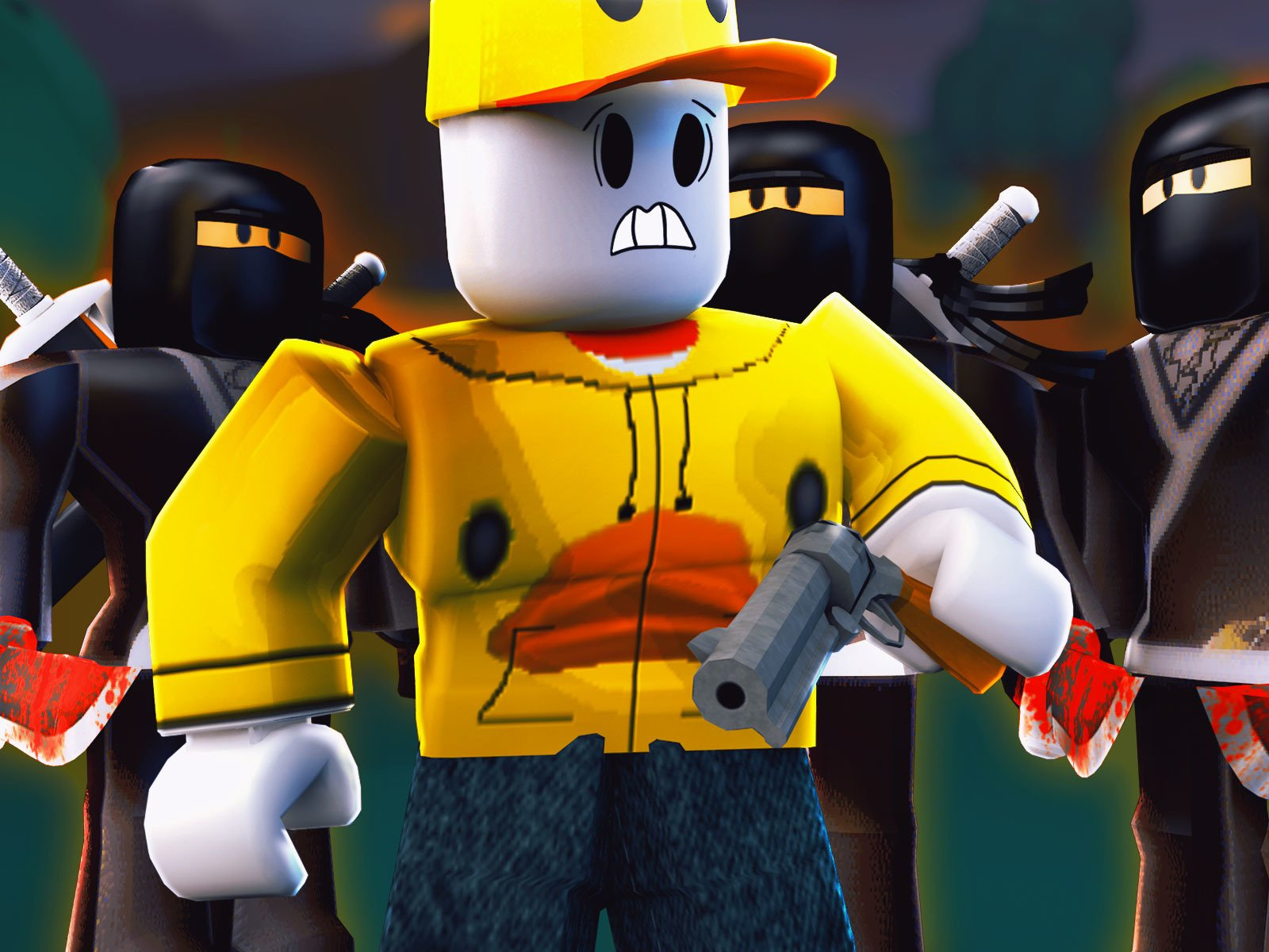 Amazon com: Watch Clip: Roblox Assassins (Murder Mystery