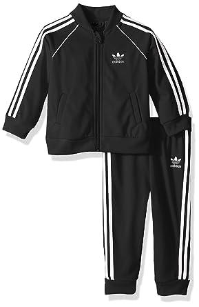 Amazon.com  adidas Originals Baby Infant Superstar Tracksuit fa1257ff1