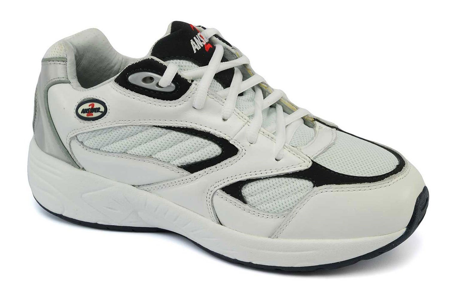 Mt. Emey Men's 554-3 Walking Shoes,White,11 XW