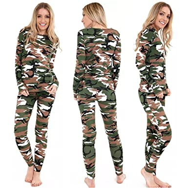 Activewear Clothing, Shoes & Accessories New Army Camouflage Print Tracksuit Jogging Lounge Wear Camo Suit 2 Piece Buy One Give One