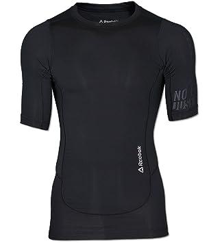 Reebok Herren Shirt CrossFit Compression Fitness schwarz