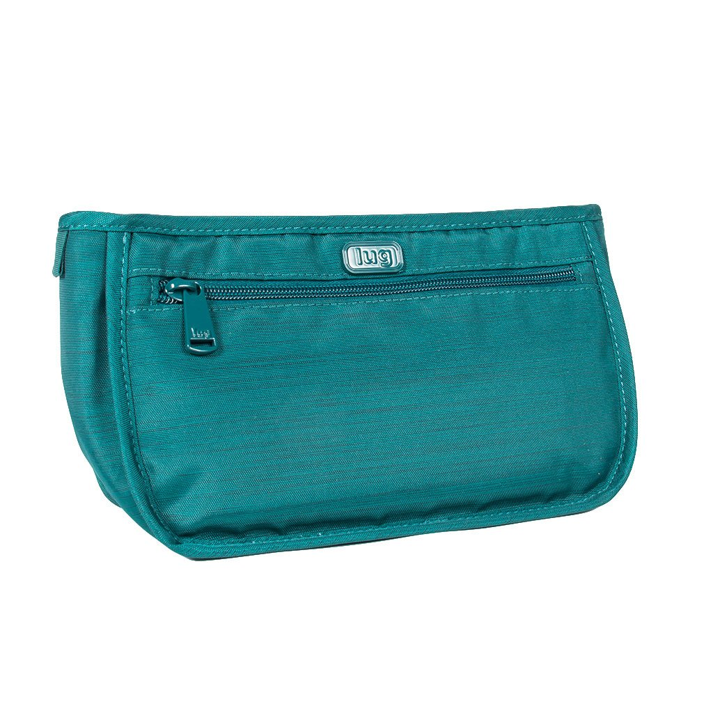 Lug Women's Parasail Cosmetic Case, Brushed Teal Lug Parent Code PARASAIL-BRUSHED TEAL