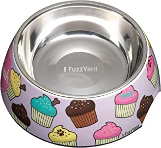 FuzzYard Dog Bowl Fresh Cupcakes Medium