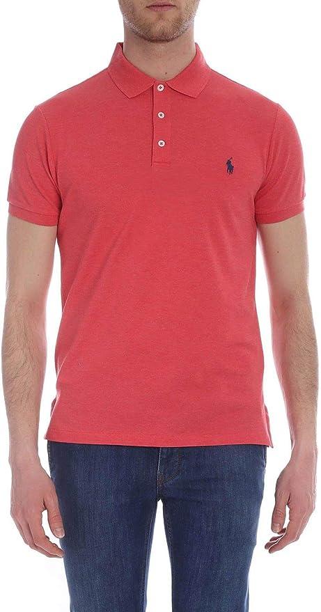 Ralph Lauren Luxury Fashion Hombre 710541705117 Rosa Polo ...