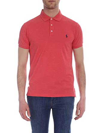 Ralph Lauren Luxury Fashion Hombre 710541705117 Rosa Polo ...