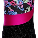 Leotards for Girls Gymnastics Colorful Butterfly