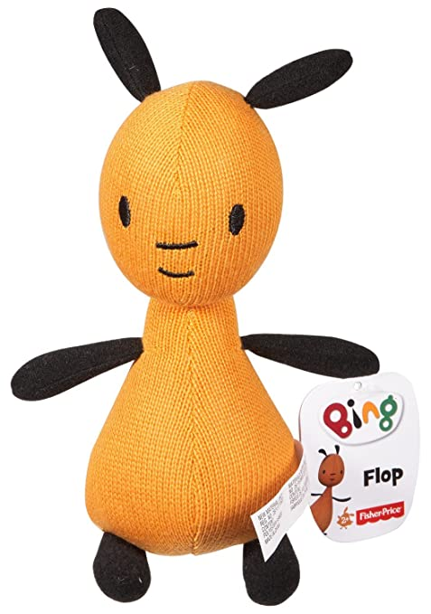 amazon com bing flop plush 7 inch toy toys games
