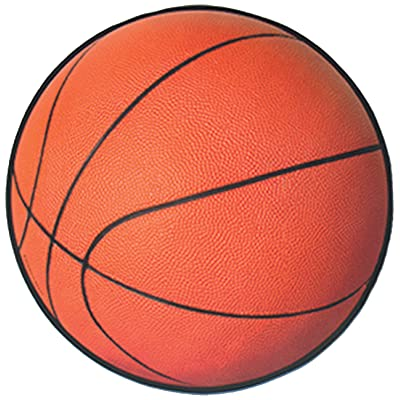 Beistle 24-Pack Basketball Cutout, 13-1/2-Inch: Kitchen & Dining