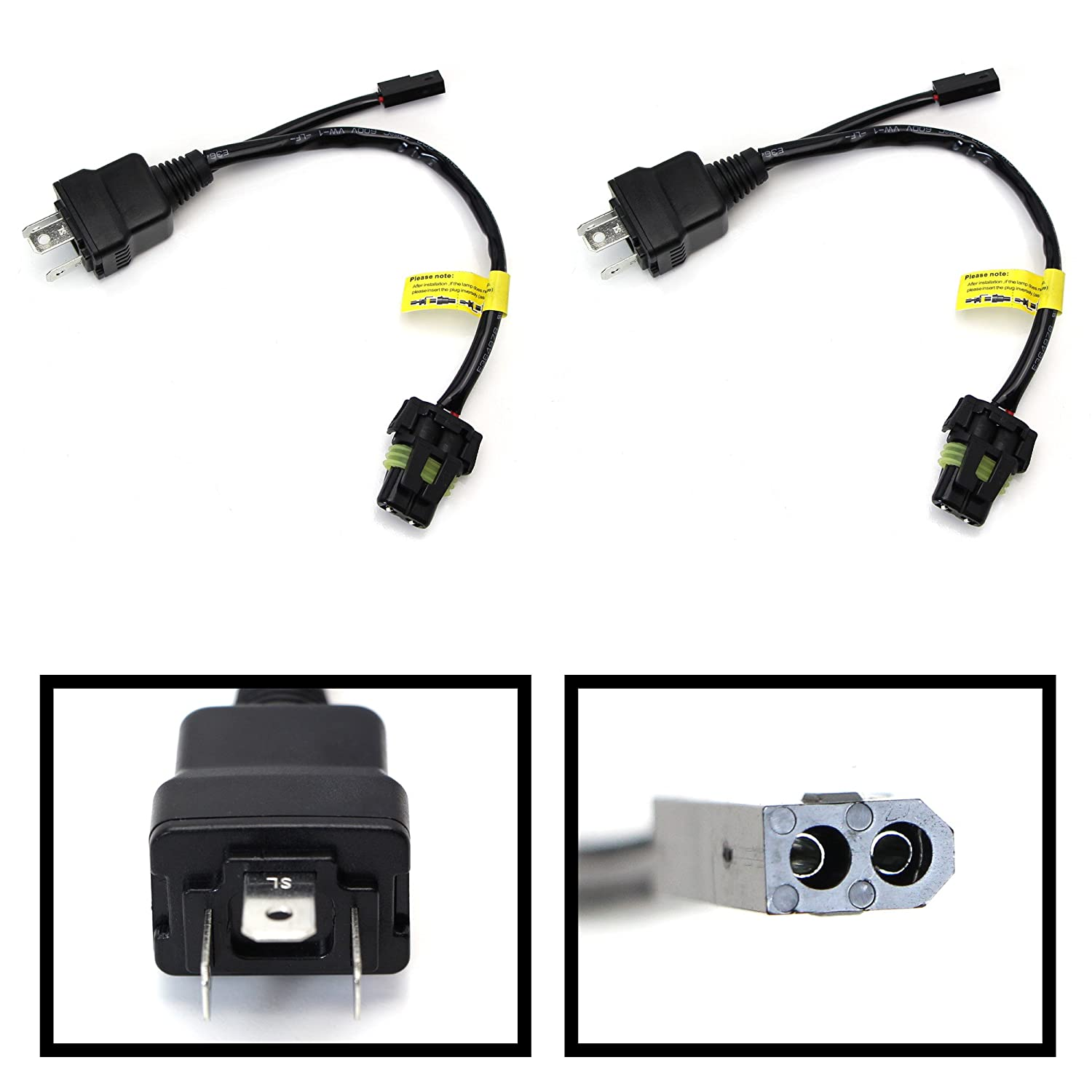 71cAasnEn0L._SL1500_ amazon com ijdmtoy (2) easy relay harness for h4 9003 hi lo bi  at reclaimingppi.co